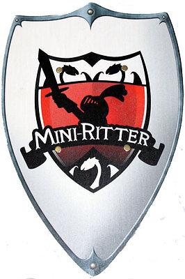 Wappenschild Mini-Ritter Ritterschild Ritter Kostümzubehör Schild - Krieger Schild Kostüm