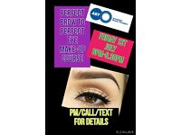 Perfect brow to perfect eye make-up and Contouring accredited courses at EB Beauty Academy