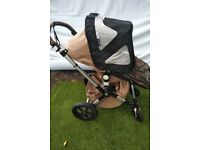 Bugaboo Cameleon 3 Sahara limited edition with many accessories and travel bag