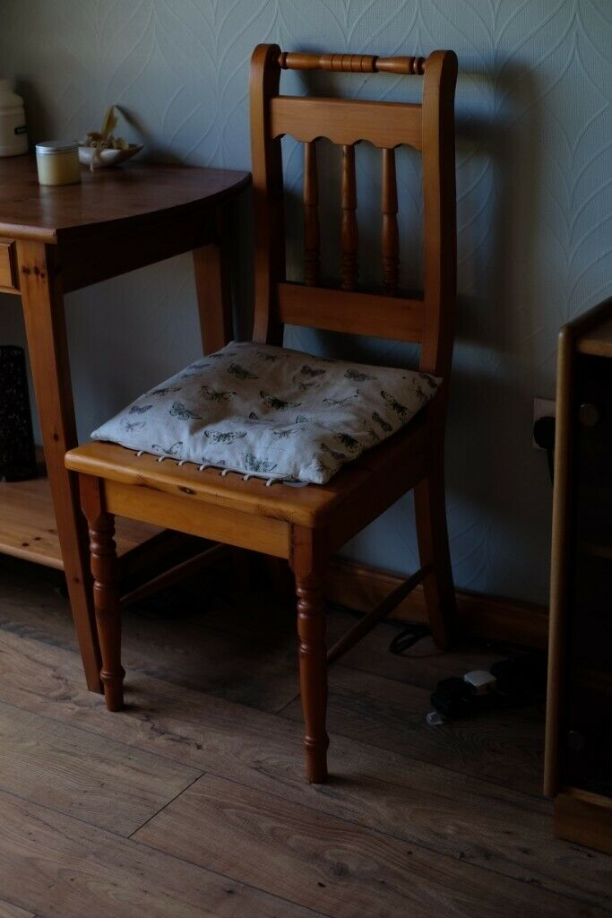 Two Solid Wood Dining Chairs From Canada In Livingston West Lothian Gumtree