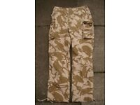 British Army - SF Issue Desert Windproof - Combat Trousers (not lightweights)