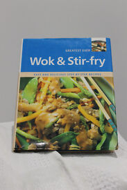 Wok and Stir-fry recipe book