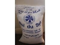 White Rock Salt Bag- For Food