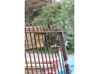 Iron gates and Railings with Arrow Heads