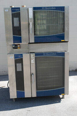 Electrolux Air-o-steam Touchline Commercial Dual Oven 120v And Gas