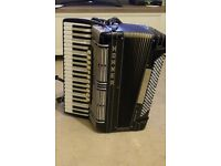 HOHNER MORINO VN PIANO ACCORDION, 41/120, DOUBLE CASSOTTO, EXCELLENT CONDITION.