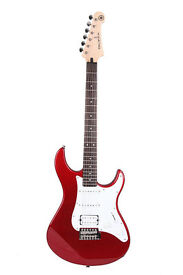 Yamaha Pacifica 012 Full Size Electric Guitar - Red Metallic - New Gig Bag and New Fender Strap