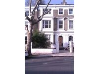 Long or short let,spacious one bed ground floor flat,Barnsbury conservation area, Islington