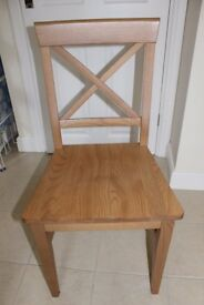 John Lewis dining chairs (x3)