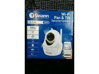 New Swann SWWHD-PTCAM Wifi surveillance camera Network Surveillance System, Plug and Play, Pan Tilt
