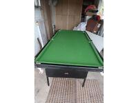 BCE Snooker table 6 feet x 3 feet