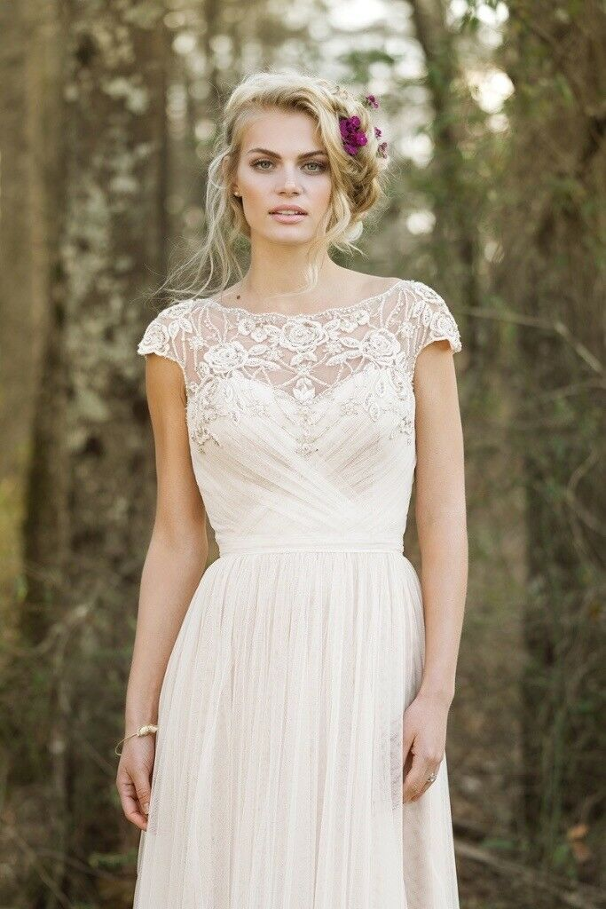 Lillian West Wedding Dress 10 12