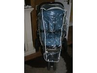 Quinny Buzz Jogger/Stroller Pushchair with Rain Cover and Bag