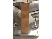 Laminate floor terracotta tile pattern approxiately 15 sq metre