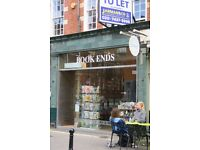 SHOP TO LET EXMOUTH MARKET CLERKENWELL EC1