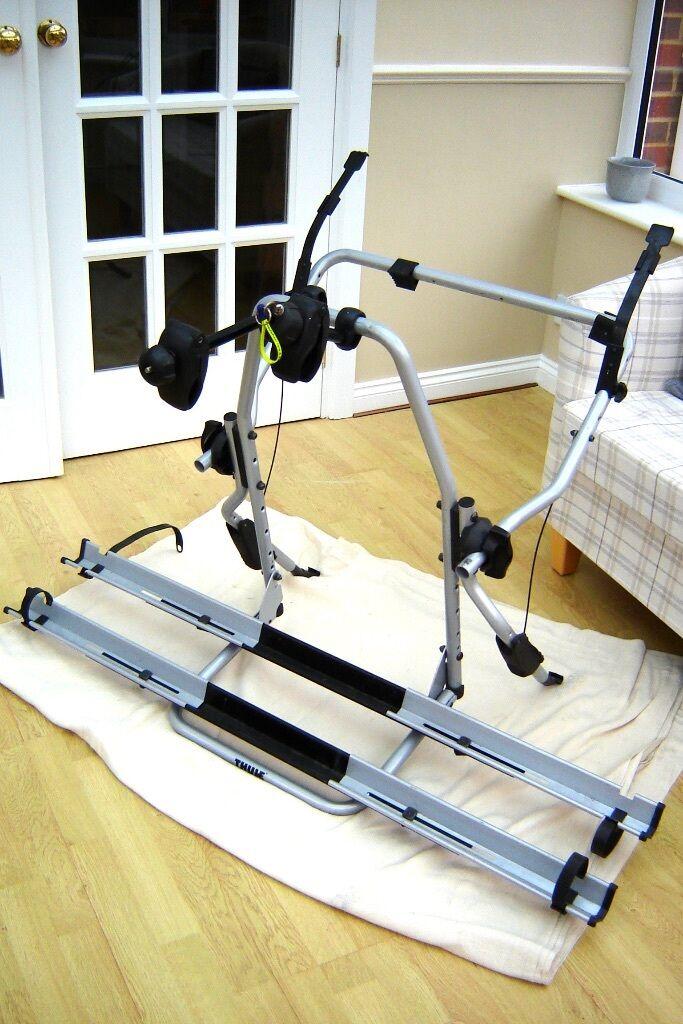 thule clipon high 9105 bike carrier in binfield. Black Bedroom Furniture Sets. Home Design Ideas