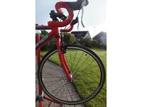 Islabikes Luath 26 Children's (age 9 to 13) road bike with spare cross tyres