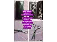 Hair scissors & thinners in case