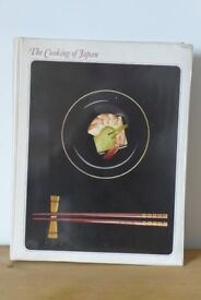 A Time-Life, Vintage, Two-Volume Cookery / Food Book, entitled 'THE COOKING OF JAPAN'.