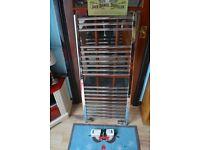Stainless steel towel radiator