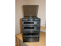 SONY STACK STEREO SYSTEM, 5 CD, DOUBLE TAPE DECK, TUNER & AMPLIFIER - WELCOME TO VIEW *NO OFFERS*