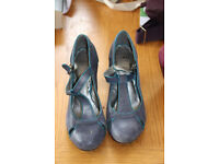 M&S 1940s style shoes. Size 6.5