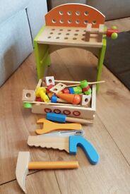 kids wooden tools