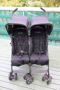 Twin / Double Maclaren Pram (Twin Techno) Manly Vale Manly Area Preview