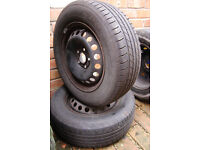 Saab 95 1999 Steel Wheels Free To Collect