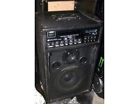 Skytec portable amplifier/PA CD/DVD player 2 MIC inputs