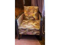 Silk patterned armchair - quick sale