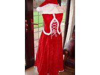 CHRISTMAS FUN - MARY CHRISTMAS FANCY DRESS OUTFITS X 2