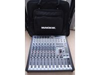 Mackie Pro FX 12 Live Sound Reinforcement 12 Channel Analogue Mixer with FX and USB + Gig Bag