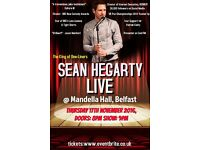 SEAN HEGARTY aka Rodney LIVE! Mandela Hall, Nov 17th