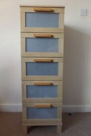 Large roomy chest of drawers
