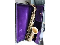 Buescher True Tone Alto Saxophone in v.good playing condition