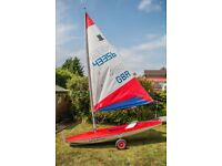 Topper sailing Dinghy, Excellent condition