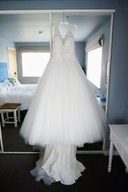 Wedding Dress: Jordan Dress by Ronald Joyce Size 16