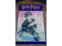 NEW Harry Potter Rug, Wand, Limited Edition Kids Bedroom Floor Mat Carpet