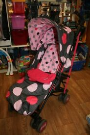 Cosatto Supa Pushchair with footmuff & raincover
