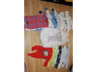 Boys bundle first size, 0-3 from pets and smoke free house
