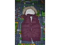 womens worm gillet s - m