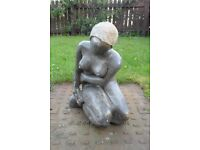 Shona stone statue