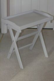 Ikea Tray table in grey