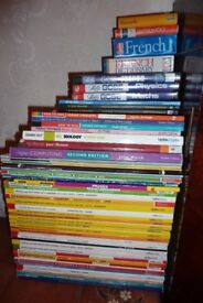Various study books - mainly Leckie and Leckie - all very good to excellent condition.