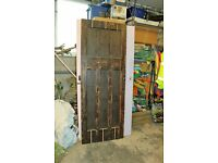 4 x 1930s (4 panel) timber doors, these are covered with ply and so need restoring. FREE