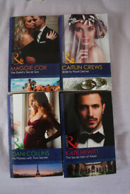 4 NEW Mills & Boon paperback 2017 Publication books FREE POST