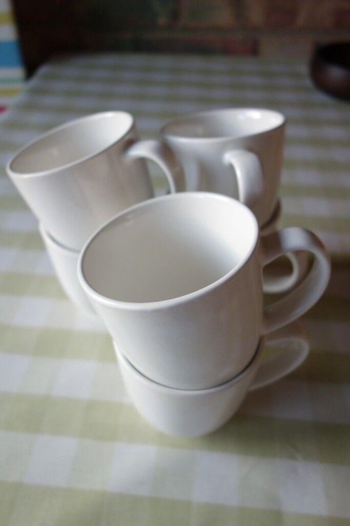 e3487e6fb3d3 Set of 6 white Ikea Vardagen mugs