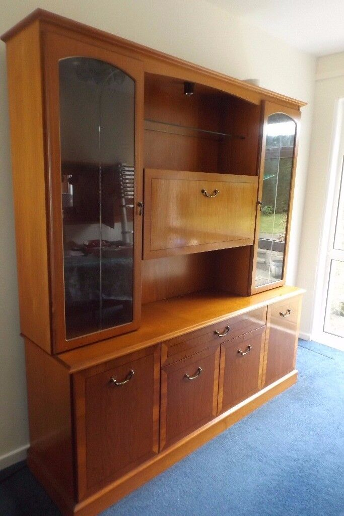 Sideboard/display cabinet with drinks cabinet