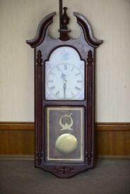 working wall clock